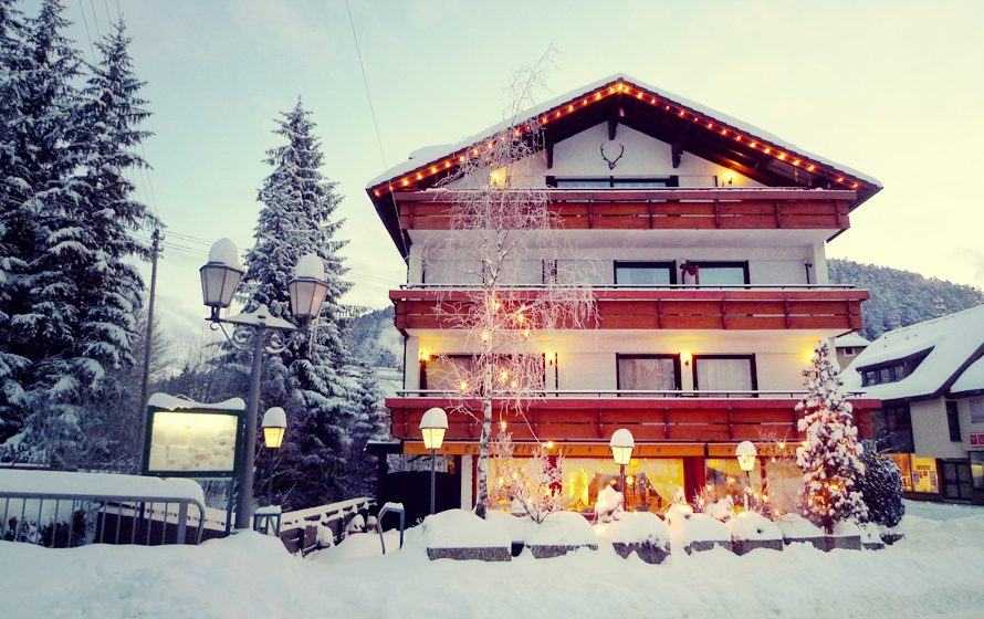 Winter Hotel Hirsch